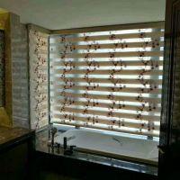 ins北欧风格客厅卧室窗帘现代简约扇形罗马帘升降布百叶