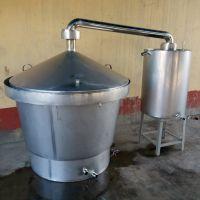 白酒酿造设备那种好蒸馏酒设备融兴自制白酒设备家用小型煮酒锅