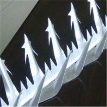 高层小水管防爬刺 空调防盗刺 窗台钢刺