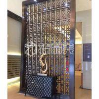 臻晶美厂家直销酒店装饰不锈钢屏风不锈钢仿古铜屏风
