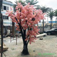北京丰台仿真大树 装饰商店门口园林景观装饰 仿真樱花树榕树