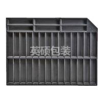 东莞厂家生产PS黑色永久性防静电吸塑托盘 可用于PCB板