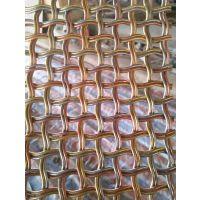 加工定做 金属装饰网帘 316不锈钢装饰网