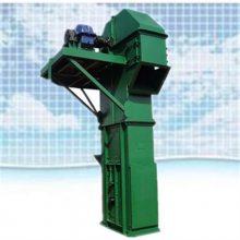 立筒仓用斗式提升机 兴运定制不同规格粮食垂直入罐提升机