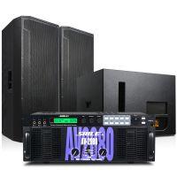 大型会议演出AV2080/BM25/效果器设备 专业大功率音箱功放组合