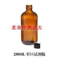 中西(HLL)玻璃瓶250ML棕色 型号:BM20-250ML 库号:M15725