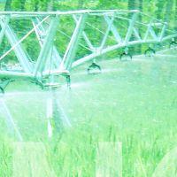 农业喷灌 450米小麦灌溉设备