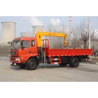 随车起重机6.3吨东风5.8米货箱随车吊山东济宁生产厂家