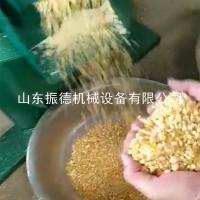 玉米脱皮去壳机家用 小型电动谷子碾米脱机 振德直销 高粱脱壳去皮机