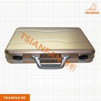 宜度厂家直销铝合金箱子精致牢固人造石样品箱PX207