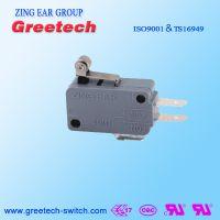 ZING EAR普通型G516A电冰箱热水器清洗机汽车家电微动开关认证欧姆龙ULCULENEC