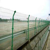 福州公路双边丝围栏@聚光批发生产护栏网@双边浸塑网