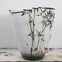 陶瓷花瓶批发 景德镇千火陶瓷花瓶厂家