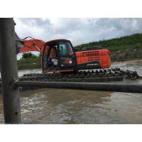 水上挖掘机,水陆挖掘机改装