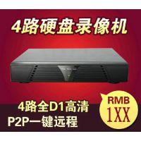 柯安视 4路硬盘录像机H.264硬盘高清D1网络监控设备监控主机DVR