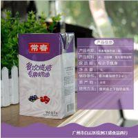 常春淡奶油 植物性鲜奶油 打发用烘焙蛋糕裱花原料1L*12瓶