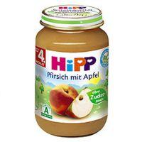 德国Hipp喜宝桃子苹果婴儿水果泥190g  原装进口