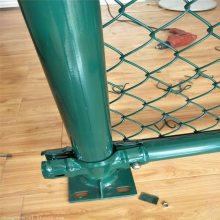铁丝勾花网围栏 网球场围栏价格 球场围网设计