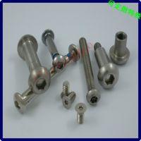 不锈钢对锁螺栓 不锈钢扁头内六角对锁铆钉螺丝