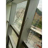 擦窗机更换高层幕墙中空镀膜玻璃外墙窗