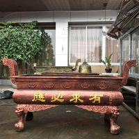 【禅相法器】供应寺庙长方形平口香炉