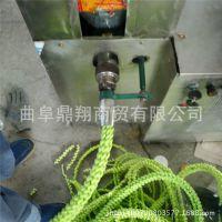 新型多功能五彩麻花膨化机  空心棒膨化机 10用谷物麻花机