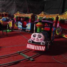 心悦一拖三游乐轨道小火车/新款铁电动轨道火车价格/广场上小孩玩的新款电瓶车有哪些?