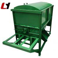 动力电卧式混料机 高产量饲料混料机