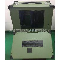 17寸下翻式工业便携机军工电脑工控机 机箱专业定制