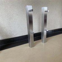新云 供应不锈钢玻璃栏板立柱 工程立柱LZ-03