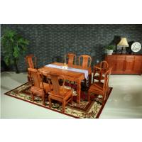 非花锦绣餐台 红木家具 客厅家具 红木餐桌 红木餐台餐桌餐椅组合