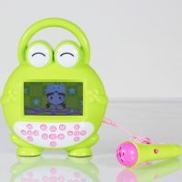 呱呱娃 新款婴幼儿童智能视频故事机 益智早教玩具批发可充电下载