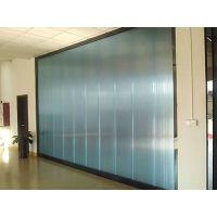 40mm七层幕墙系统中空板-多层插接板-pc中空50mm隔音板