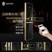 【智能工程供应】邦威BW883智能酒店 刷卡开门 IC卡锁无线远距离门锁系统