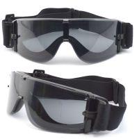 BP-1060加厚防雾镜片护目镜 冲击防护眼镜 T-REX野战术镜
