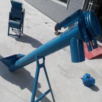 159管径螺旋提升机价格 瑞诚机械定做移动式螺旋输送机