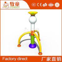 牧童供应儿童戏水设备 水上乐园游乐设施火箭戏水小品定制