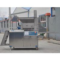 三文鱼肉饼成型机 AMF400成型机 鱼肉汉堡肉饼成型设备 厂家