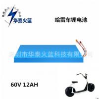 华泰火蓝 哈雷车电池组60V 12Ah