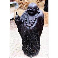 乌木木雕 原著雕塑厂家 阴沉木乌木佛像木雕雕刻 根艺雕刻艺术品