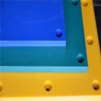 蓝色超高分子量聚乙烯护舷板 耐磨pe板条 聚乙烯水箱盖板