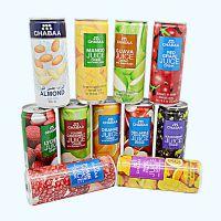现货原装泰国进口chabaa芭提娅听装芒果草莓11个味道水果饮料