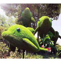 大型仿真植物绿雕 定制独具特色仿真雕塑造型 欢迎来厂观看