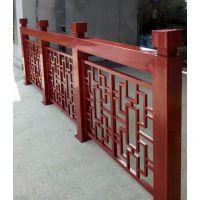 仿古屏风栏杆阳台护栏锌钢百叶窗生产拼装好发货