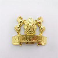 厂家定制香港旅游纪念徽章制作金属徽章厂家直销
