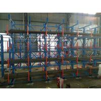 江西建材货架存储管材 方管 圆管 长管 异性管 正耀伸缩悬臂式