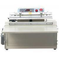 500台式电动外抽充气包装机(不锈钢)桌面电子元件外抽真空包装机
