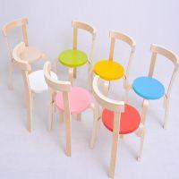 加厚儿童实木椅子 幼儿园专用椅 宝宝靠背椅 凳子 幼儿安全小椅子