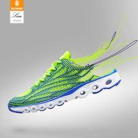 八哥批发针织运动鞋飞线网鞋男鞋休闲鞋夏季透气跑步鞋一件代发鞋
