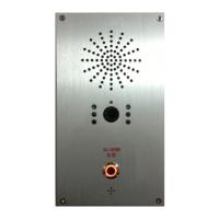 SIP可视对讲电话,壁挂式嵌入安装